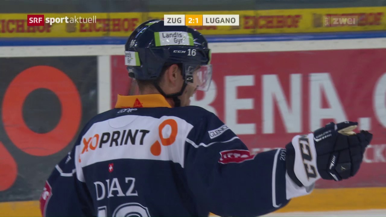 Diaz schiesst Zug zum Sieg über Lugano