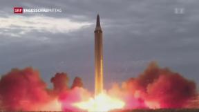 Video «Nordkorea plant weitere Raketentests» abspielen