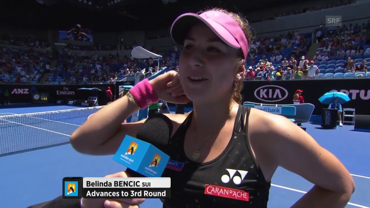 Interview mit Belinda Bencic