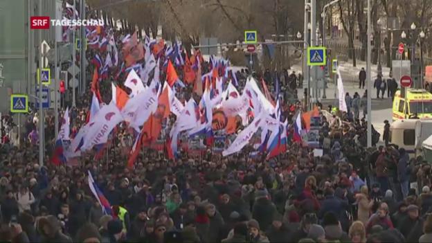 Video «Noch immer sind viele Russen aufgebracht» abspielen