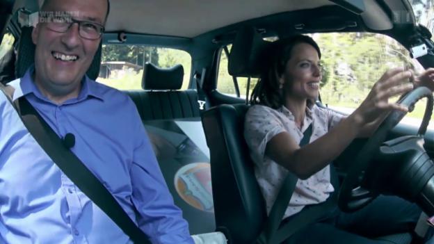 Video «Wahlfahrt mit Markus Ritter und Aline Trede» abspielen