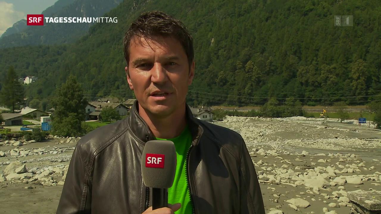 SRF-Reporter Otmar Seiler zur Situation in Bondo