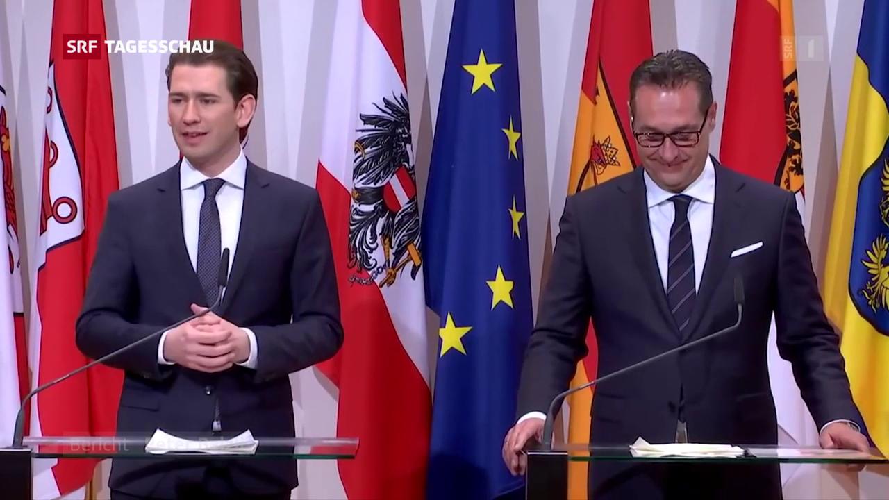 Österreichs Regierung startet mit Skandalen