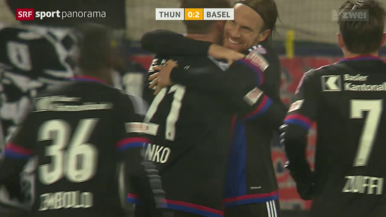 Fussball: Super League, Thun - Basel