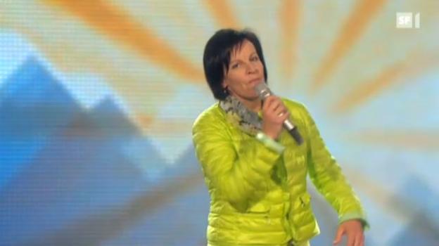 Video «Vreni Schneider feiert TV-Premiere» abspielen