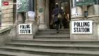 Video «Wahlen in Grossbritannien: Knapper Ausgang erwartet» abspielen