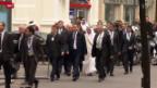 Video «Syriengipfel im Schatten von neuen Gefechten» abspielen