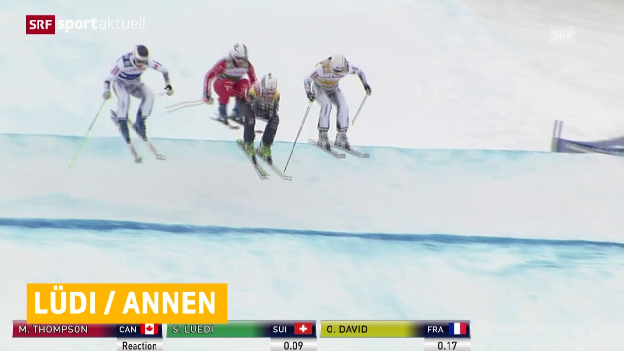 Skicross: Weltcup in Val Thorens