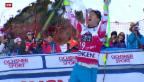 Video «Reichelt verhindert Schweizer Triumph am Lauberhorn» abspielen