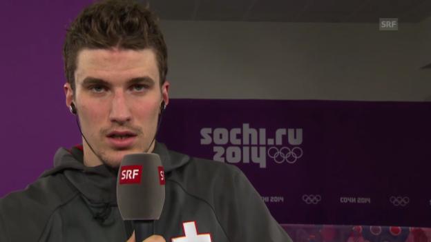 Video «Eishockey: Interview mit Roman Josi (sotschi aktuell, 18.02.2014)» abspielen