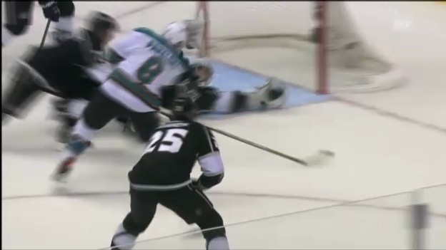 Video «NHL: Highlights LA - San Jose» abspielen
