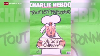 """Video «Die aktuelle """"Charlie Hebdo"""" ist ausverkauft» abspielen"""