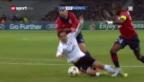 Video «CL: Lille - Valencia» abspielen