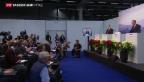 Video «Keine Lösung im Ukraine-Konflikt» abspielen