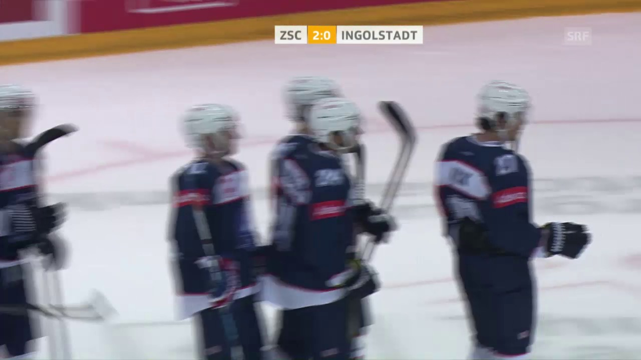 Der ZSC schlägt Ingolstadt