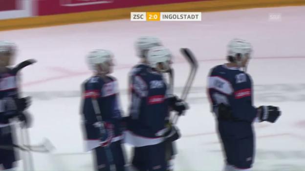 Video «Der ZSC schlägt Ingolstadt» abspielen