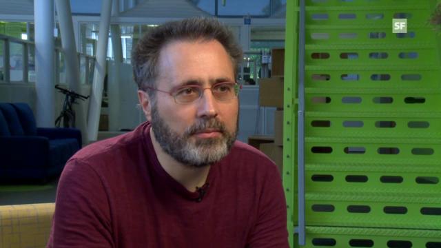 Google-Fellow Urs Hölzle erläutert die Bedeutung der Green IT.