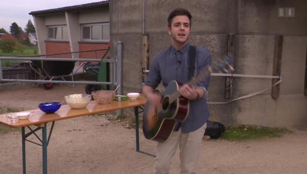 Video «Luca Hänni engagiert sich für Schmetterlingskinder» abspielen