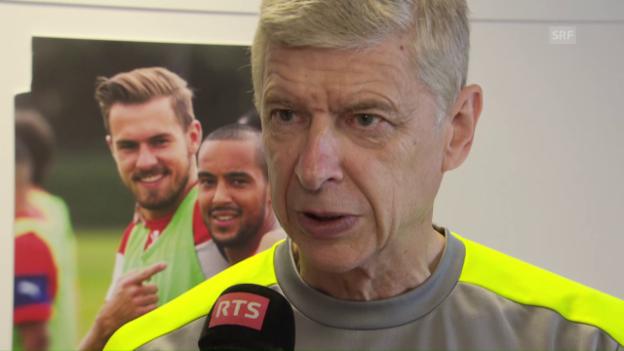 Video «Wenger: «Wir müssen die Qualität hochhalten» (Interview franz.)» abspielen