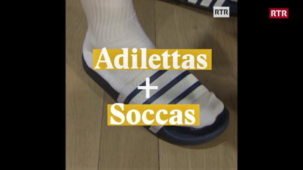Laschar ir video «Adilettas + Soccas»