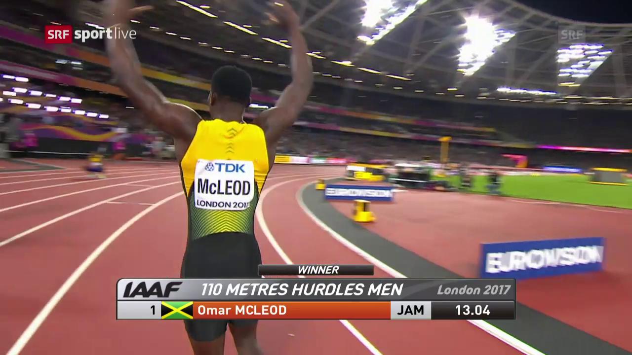 McLeod holt sich Gold über 110 m Hürden