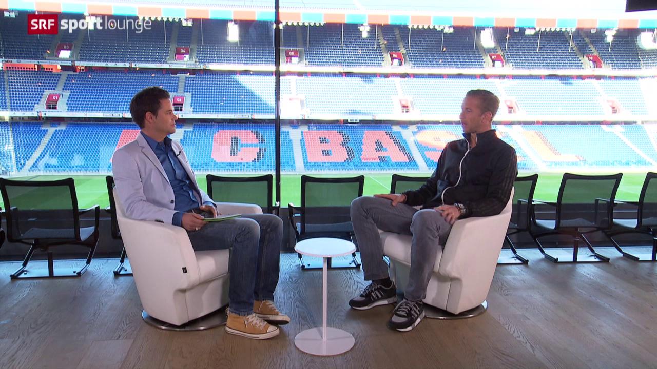 Fussballer Marc Janko im Gespräch