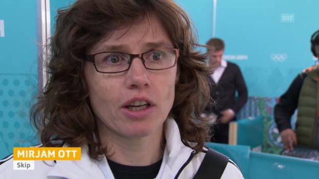Video «Curling: Halbfinal Frauen Sotschi, Interviews mit Schweizerinnen (sotschi direkt, 19.2.14)» abspielen