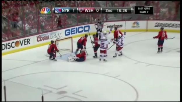 Video «NHL: New York Rangers - Washington Capitals» abspielen