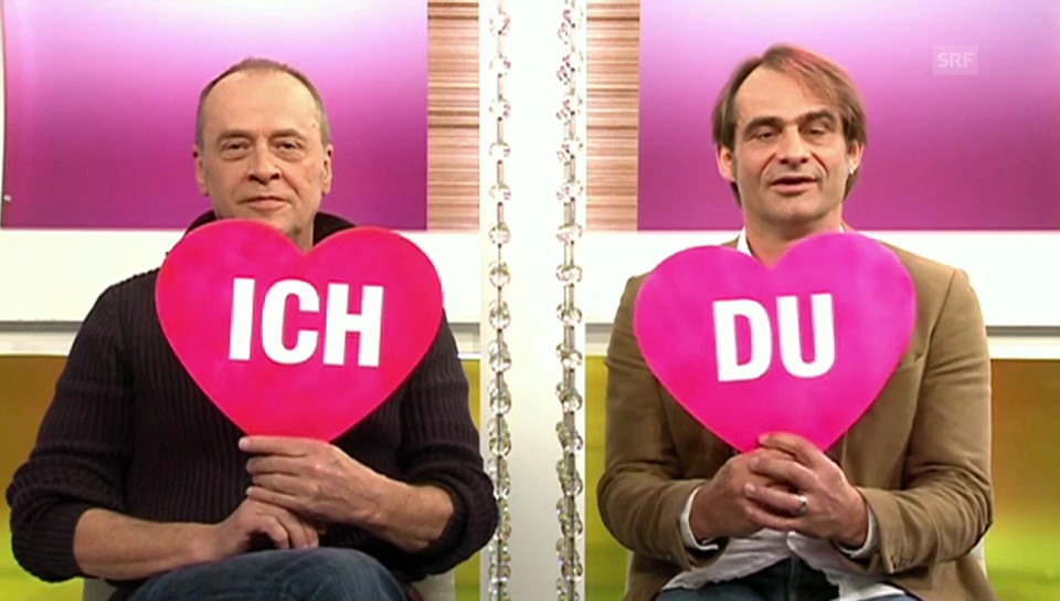 «Ich oder Du»: Joschi Kühne und Thomy Scherrer