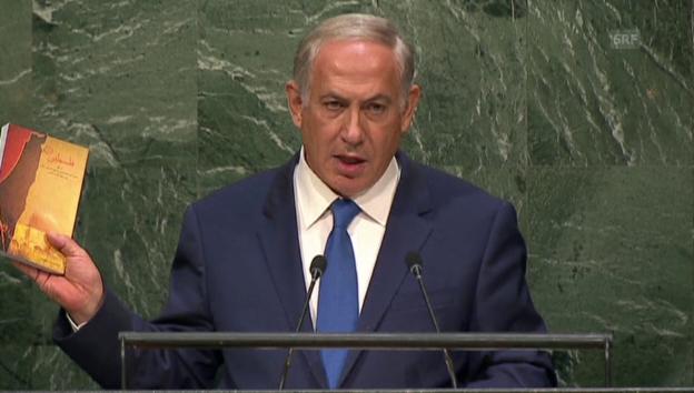 Video «Netanjahu: «Ihre Antwort war – Stille!» (Engl.)» abspielen