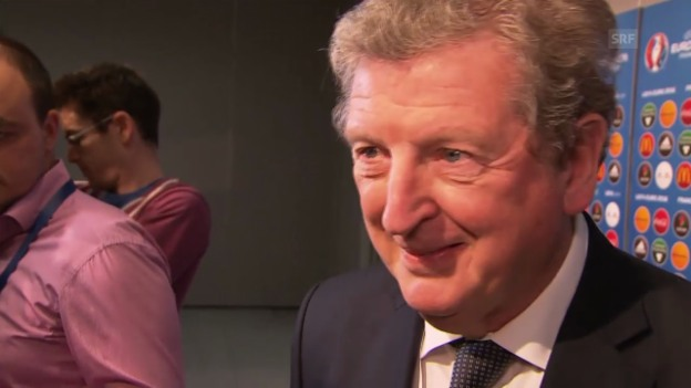 Video «Fussball: Interview mit England-Coach Roy Hodgson» abspielen