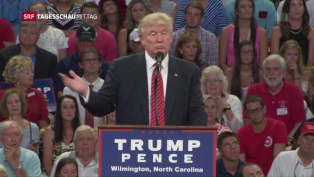 Video «Trumps neuester Streich» abspielen