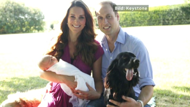 Das erste offizielle Foto von Prinz George