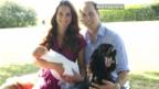 Video «Das erste offizielle Foto von Prinz George» abspielen