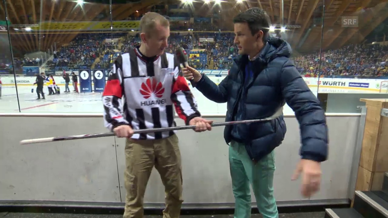 Eishockey: Spengler Cup, «Penalty Checker», Haken