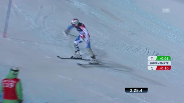 Super-Kombi: Slalom Marc Berthod