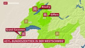Video «Weitere Standorte für Bundesasylzentren» abspielen