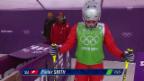 Video «Skicross: Frauen, Achtelfinal mit Fanny Smith (sotschi direkt, 21.2.2014)» abspielen