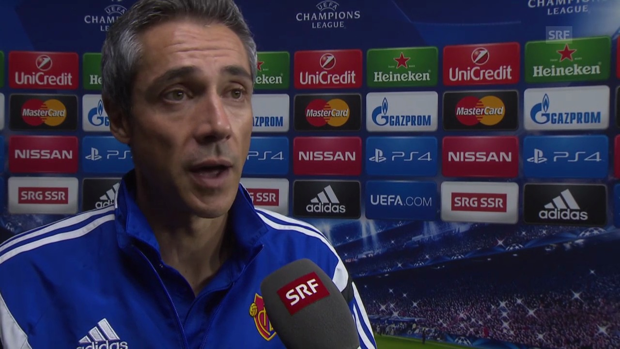 Fussball: CL, vor Ludogorets-Basel, Interview Paulo Sousa