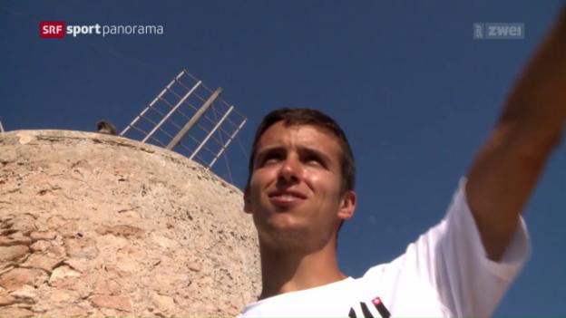 Video «Matteo Sanz-Lanz: Der Exot im Schweizer Team» abspielen