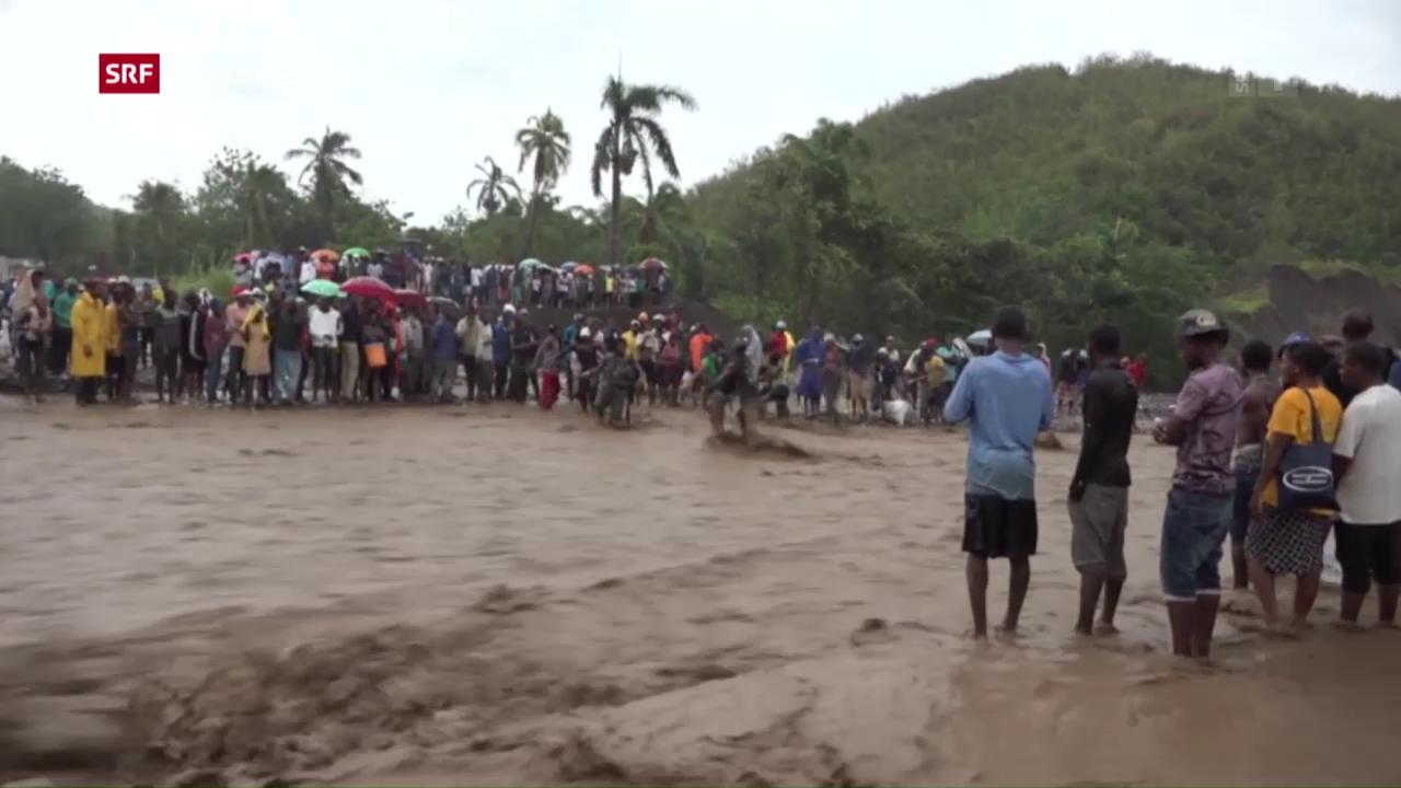 Hurrikan hinterlässt massive Verwüstungen in Haiti