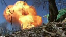 Video «TV-Team flüchtet nach der Explosion (unkommentiert)» abspielen