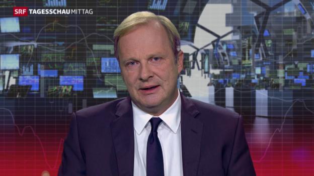Video «SRF-Wirtschaftsredaktor Christian Kolbe zu Abbau und Aktie» abspielen