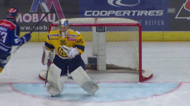 Video «Eishockey: Playoff-Final, Spiel 3 ZSC-HCD Penaltyschiessen» abspielen