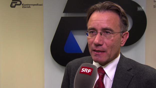 Video «Mediensprecher Werner Schaub zur Tat» abspielen