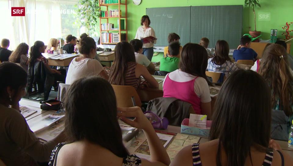 Zürcher Schulklassen werden kleiner