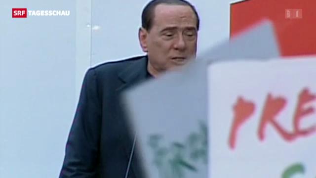 Zahlreiche Unterstützer für Berlusconi