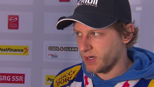 Video «Eishockey: Interview mit Simon Bodenmann» abspielen