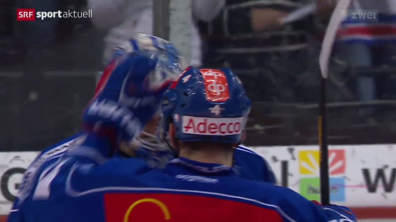 Eishockey: Playoff-Final, ZSC-Kloten