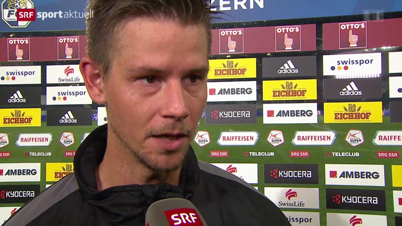 Fussball: Super League, Stimmen zu Luzern - Aarau